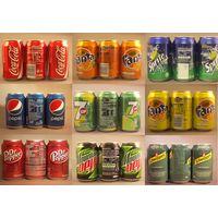 Coca Cola, Fanta, Sprite, Pepsi 330ml & Red bull 250ml thumbnail image
