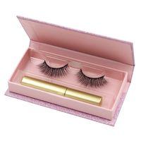 Import False Eyelashes, Magnetic Eyelashes and Eyeliner Set