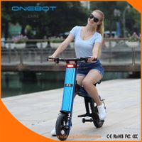 ONEBOT T8 250W 500W dual battery folding electric bike