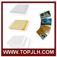 Instant PVC card materials