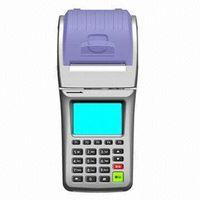 Handheld GPRS POS system thumbnail image