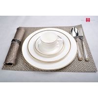 Golden Edged Tableware 4 pieces