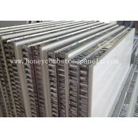honeycomb stone panel for curtain wall envelope
