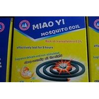 130 mm black mosquito coil
