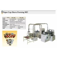 Paper cup sleeve forming machine thumbnail image
