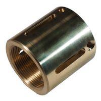 CNC turning machining  brass parts