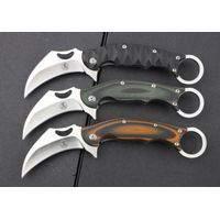 claw Knife Quality  Fixed Blade  G10 Handle  Tactical knife