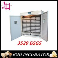 China chicken incubator 3520 eggs digital incubator best price