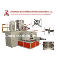 Mixing machine for plastics