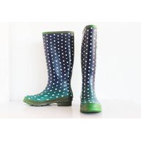 Wonderful Ladies Colorful Pattern Printed Rain Boots,Wellington boots