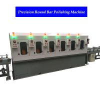 China round bar external polishing machine stainless steel pipe polishing machine