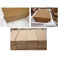 Best Quality Honed Wooden Yellow Sandstone Tile