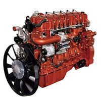 Vertical 4 Stroke Water-Cooled Gas Engine for Trucks