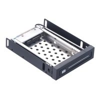 "Floppy Bay 2.5"" Inch SATA III Hard Drive HDD & SSD Tray Caddy Internal Mobile Rack Enclosure Support"