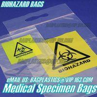 Specimen bag,Kangaroo bag, ,Biohazard bag, Medical Specimen Bags, Lab Supplies, Grip Seal bags, anti
