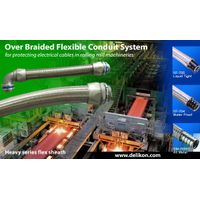 Delikon Heavy Series electric Flexible Conduit,Heavy Series fittings For machine Wiring conduit