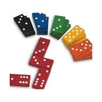 color dominoes(set of 168) thumbnail image
