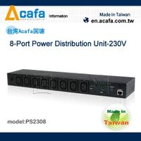 ACAFA PS2308 8-Port Power Distribution Unit-230V-tw