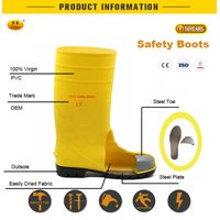 Comfortable OEM construction safety boots thumbnail image