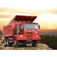 5.5m SINOTRUK HOWO70 Mine Dump Trucks 420HP, EUROII