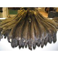 Siberian sable pelts