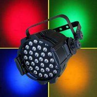 DMX LED PAR 64 LIGHTS 36x3W 4 COLORS RGBA