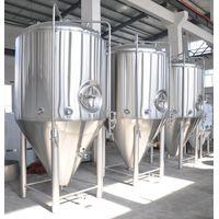 1000L /10HL Cooling Jacket Fermentation Tank