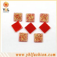 Apparel decoration hot fix resin epoxy rhinestone