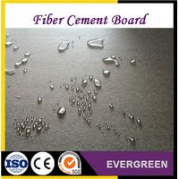 Waterproof fiber cement board