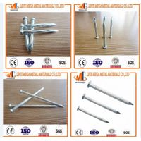 the factory wholesale high quality hardened steel galvanized concrete nails