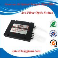 2x4 Cascade Fiber Optical Switch