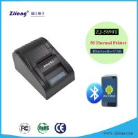 Thermal Dot Ticket Pritner Supermarket Billing Machine Printer for Android Tablet 5890T-L/LL