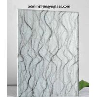 sell crystal wired patterned glass