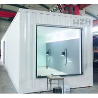 Small prefabricate tiny container house light steel structure frame container house thumbnail image