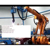 robot de soldadura hecho a mano para fregadero / robot industrial / brazo robotizado / manipulador