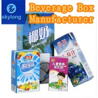 UHT milk box