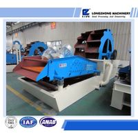 XS sand washing equipment with pu sieve
