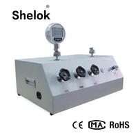 Pneumatic pressure calibrator dead weight tester calibration thumbnail image
