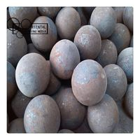 high hardness forged steel grinding steel balls
