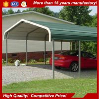 China factory direct sales waterproof wind resistant prefab carport garage