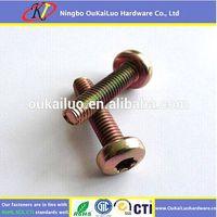 Carbon Steel Torx Pan Head Trilobular Thread Forming Screws