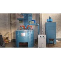 Dingtai rolling drum type shot blasting machine