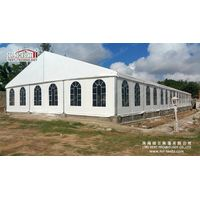 Luxury Outdoor Aluminum Big Church Tent with Glass Walls for Party and Events