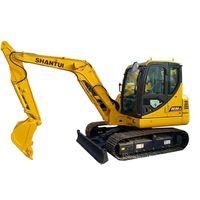 5 tons heavy construction machinery Shantui crawler excavator SE50-9 for sale thumbnail image