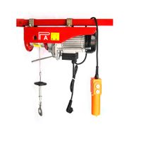 PA low cost Mini electric wire rope overhead winch