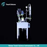 Single Glass Reactor with Heat Bath for Pharmaceutical Industry