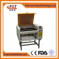 China laser engraving machine for stamp acrylic glass fabric etc nonmetal from manufacturer