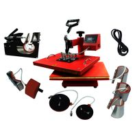 Combo 8 in 1 Heat Press Machine