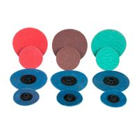 Surface Conditioning Disc,Maroon Quick Change Disc,Rolco Quick-Change Surface Conditioning Disc