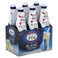 Kronenbourg 1664 Blanc Beer / French Beer Blue Bottles 33cl / 25cl~ thumbnail image